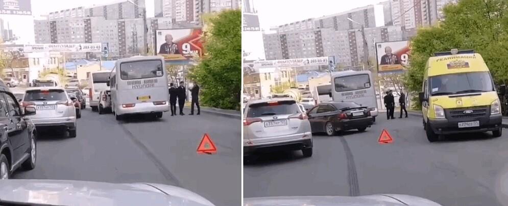 Тяжелое ДТП произошло на улице Котельникова 14 мая 2018 года