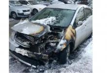 поджог автомобиля Владивосток