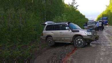 Photo of ДТП на трассе Селихино — Николаевск-на-Амуре за рулем Land Cruiser пьяный водитель..