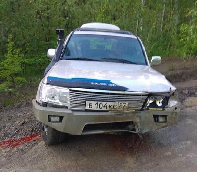 ДТП на трассе Селихино — Николаевск