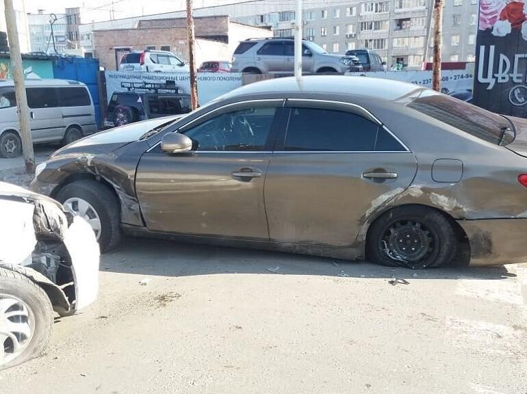 ДТП Шилкинская таксист разнес Mark X. Владивосток