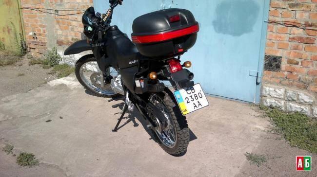 Объем двигателя мотоцикла Zongshen ZS200GY-A