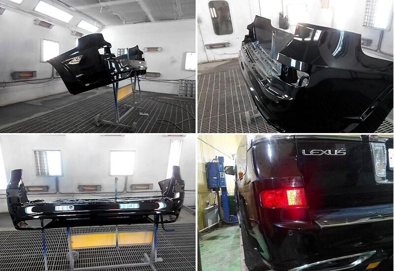 Автоцентр «Юнитек» покраска и кузовной ремонт авто