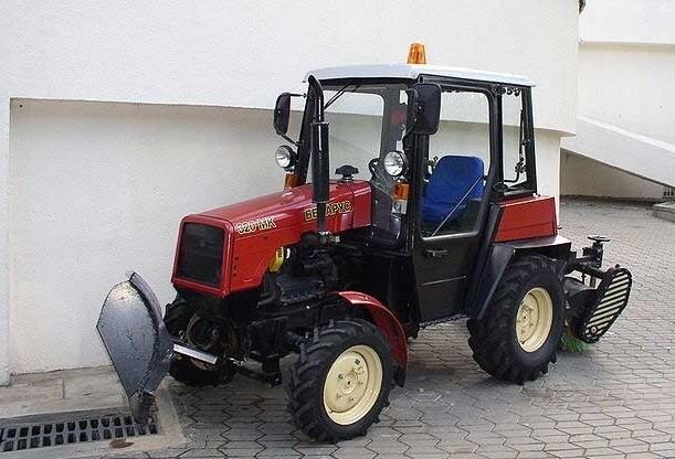 Устройство мини трактора