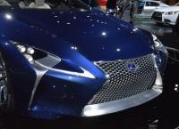 новые автомобили Lexus