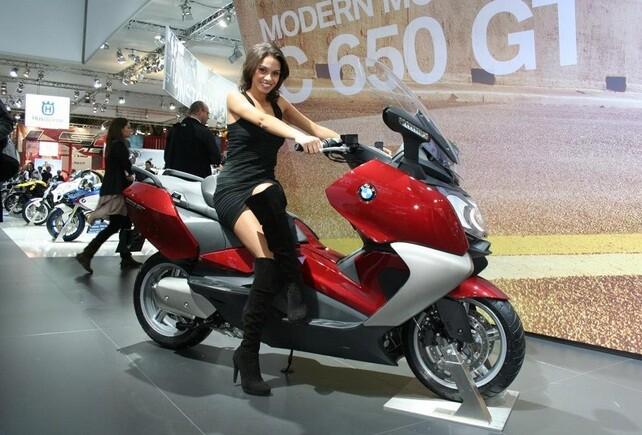 Макси скутеры BMW