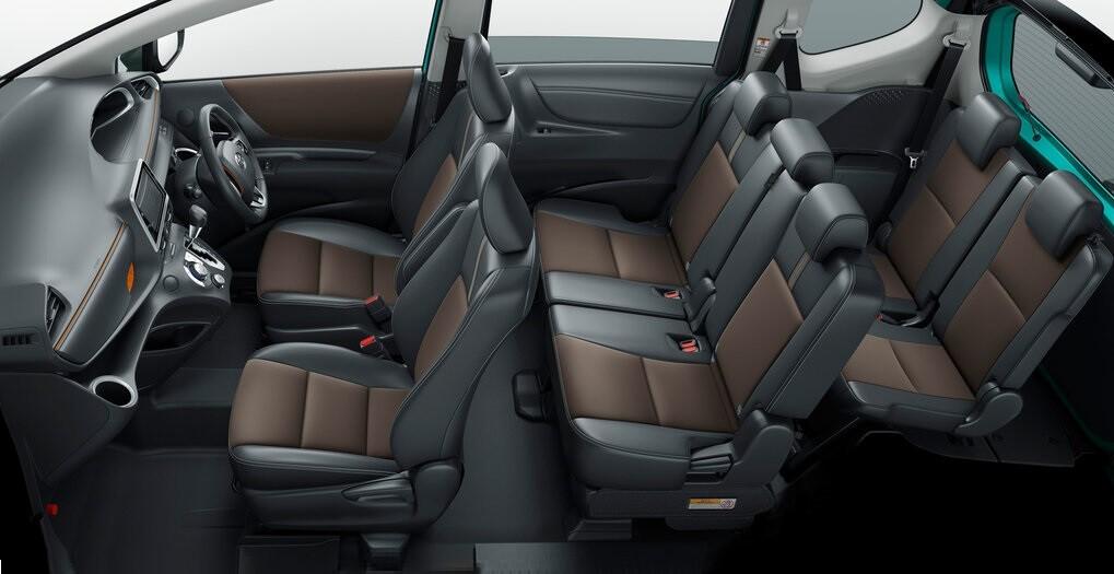 Toyota Sienta Hybrid 2 поколение