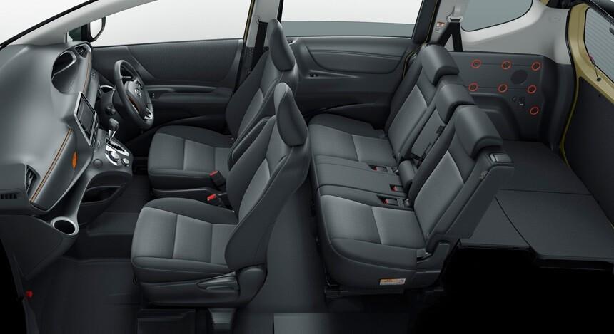 Багажника Тойота Сиента 2018