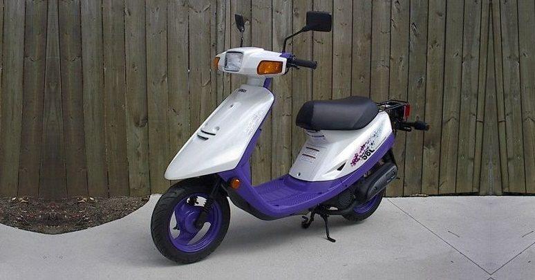 Yamaha Jog спортивный скутер для активного использования