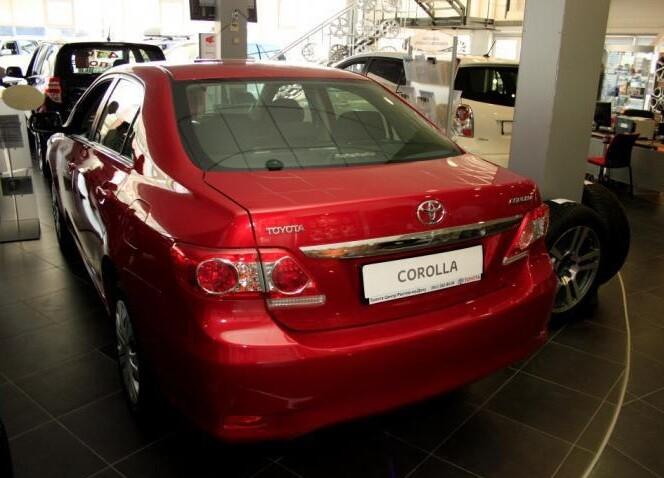Toyota Corolla обзор