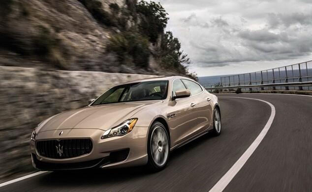 новые автомобили Quattroporte