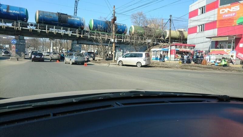 ДТП произошло на улице Спортивная