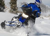 Характеристики снегохода Yamaha