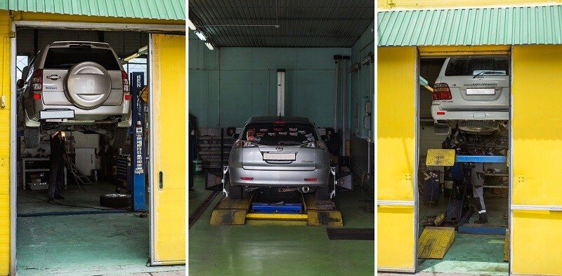 «Желтый бокс» — автосервис ремонт двигателя